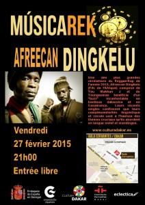 150227 Musicarek Afreecan Dingkelu